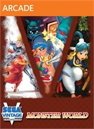Box cover for Sega Vintage Collection: Monster World on the Microsoft Xbox Live Arcade.