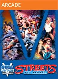 Box cover for Sega Vintage Collection: Streets of Rage on the Microsoft Xbox Live Arcade.