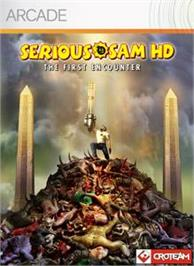 Box cover for Serious Sam HD: TFE on the Microsoft Xbox Live Arcade.
