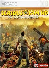Box cover for Serious Sam HD: TSE on the Microsoft Xbox Live Arcade.