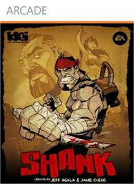 Box cover for Shank on the Microsoft Xbox Live Arcade.