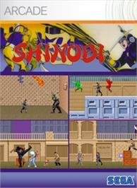 Box cover for Shinobi on the Microsoft Xbox Live Arcade.