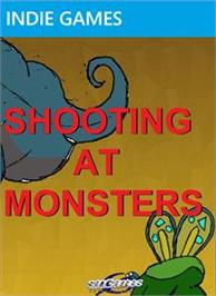 Box cover for Shooting at Monsters on the Microsoft Xbox Live Arcade.