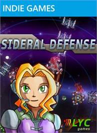 Box cover for Sideral Defense on the Microsoft Xbox Live Arcade.