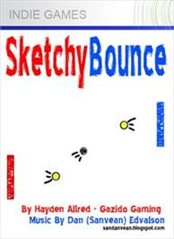Box cover for Sketchy Bounce on the Microsoft Xbox Live Arcade.
