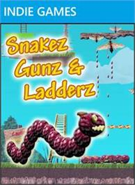 Box cover for Snakez Gunz & Ladderz on the Microsoft Xbox Live Arcade.
