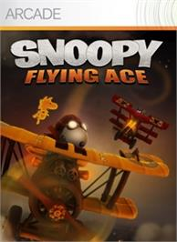 Box cover for Snoopy Flying Ace on the Microsoft Xbox Live Arcade.