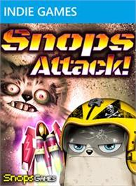 Box cover for Snops Attack! Zombie Defense on the Microsoft Xbox Live Arcade.