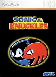 Box cover for Sonic & Knuckles on the Microsoft Xbox Live Arcade.