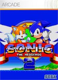Box cover for Sonic The Hedgehog 2 on the Microsoft Xbox Live Arcade.