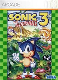 Box cover for Sonic The Hedgehog 3 on the Microsoft Xbox Live Arcade.