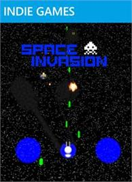 Box cover for Space Invasion on the Microsoft Xbox Live Arcade.