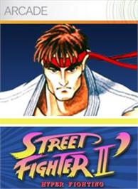 Box cover for Street Fighter II' HF on the Microsoft Xbox Live Arcade.