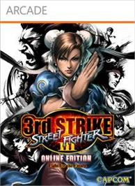 Box cover for Street Fighter III: Online Edition on the Microsoft Xbox Live Arcade.