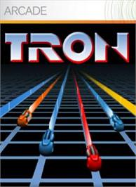 Box cover for TRON on the Microsoft Xbox Live Arcade.