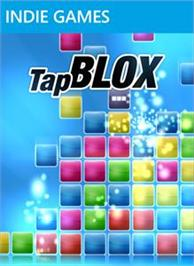 Box cover for Tap Blox on the Microsoft Xbox Live Arcade.
