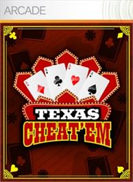 Box cover for Texas Cheat'em on the Microsoft Xbox Live Arcade.