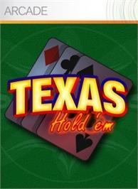 Box cover for Texas Hold'em on the Microsoft Xbox Live Arcade.