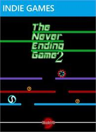 Box cover for The Never Ending Game 2 on the Microsoft Xbox Live Arcade.