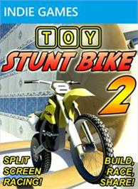Box cover for Toy Stunt Bike 2 on the Microsoft Xbox Live Arcade.