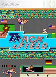 Box cover for Track and Field on the Microsoft Xbox Live Arcade.