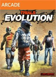 Box cover for Trials Evolution on the Microsoft Xbox Live Arcade.