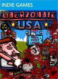 Box cover for UBERZOMBIE USA on the Microsoft Xbox Live Arcade.