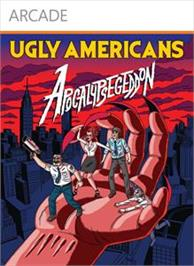 Box cover for Ugly Americans: Apocalypsegeddon on the Microsoft Xbox Live Arcade.