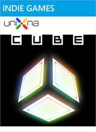 Box cover for UniXNA : Cube on the Microsoft Xbox Live Arcade.