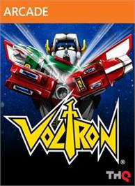 Box cover for Voltron on the Microsoft Xbox Live Arcade.