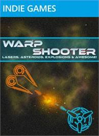 Box cover for Warp Shooter on the Microsoft Xbox Live Arcade.