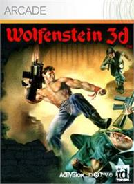 Box cover for Wolfenstein 3D on the Microsoft Xbox Live Arcade.