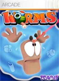 Box cover for Worms on the Microsoft Xbox Live Arcade.