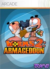 Box cover for Worms 2: Armageddon on the Microsoft Xbox Live Arcade.