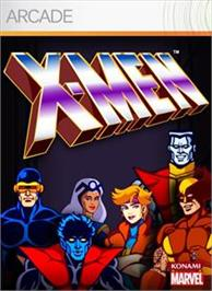 Box cover for X-MEN on the Microsoft Xbox Live Arcade.