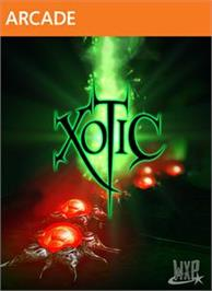 Box cover for Xotic on the Microsoft Xbox Live Arcade.