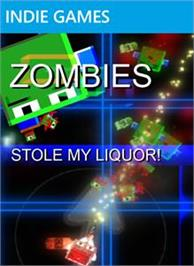 Box cover for ZOMBIES Stole My Liquor! on the Microsoft Xbox Live Arcade.