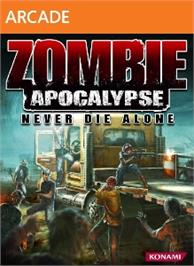 Box cover for Zombie Apocalypse: Never Die Alone on the Microsoft Xbox Live Arcade.