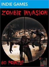 Box cover for Zombie Invasion on the Microsoft Xbox Live Arcade.