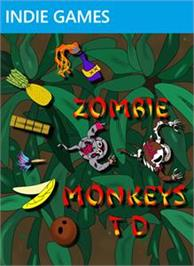 Box cover for Zombie Monkeys TD on the Microsoft Xbox Live Arcade.