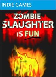 Box cover for Zombie Slaughter Is Fun on the Microsoft Xbox Live Arcade.