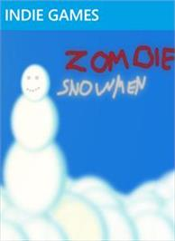 Box cover for Zombie Snowmen on the Microsoft Xbox Live Arcade.