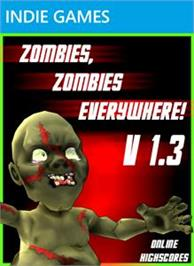 Box cover for Zombies, Zombies Everywhere! on the Microsoft Xbox Live Arcade.