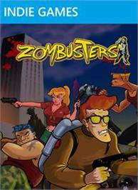 Box cover for Zombusters on the Microsoft Xbox Live Arcade.