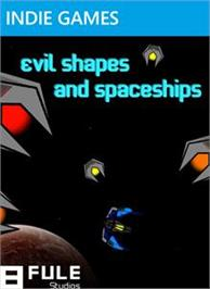 Box cover for evil shapes and spaceships on the Microsoft Xbox Live Arcade.