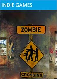 Box cover for zombie crossing on the Microsoft Xbox Live Arcade.