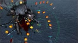 In game image of 0 day Attack on Earth on the Microsoft Xbox Live Arcade.