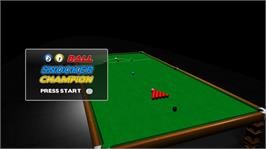 In game image of 21 Ball Snooker Champion on the Microsoft Xbox Live Arcade.