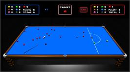 In game image of 21 Ball Snooker LIVE on the Microsoft Xbox Live Arcade.