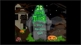 In game image of 2D House of Terror on the Microsoft Xbox Live Arcade.
